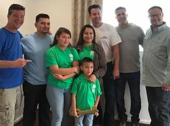 We donated materials and labor to Habitat for Humanity in Pomona Valley, CA