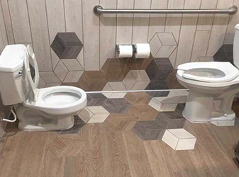 Tile projects by Compare Carpet & Hardfloors in Norco, California
